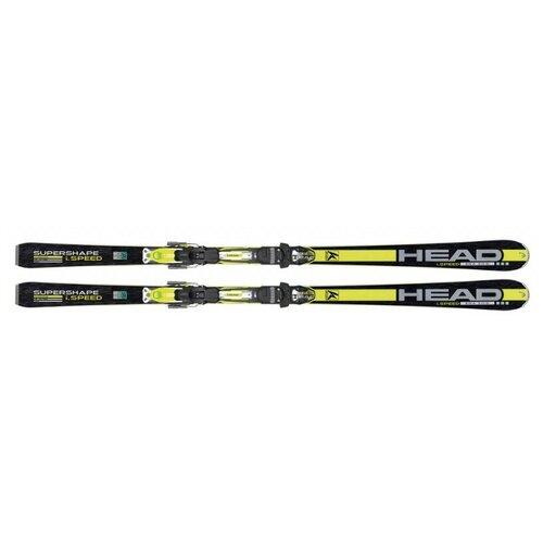 Горные лыжи HEAD i.supershape speed (14/15) (размер 184, цвет Черно-желтый)