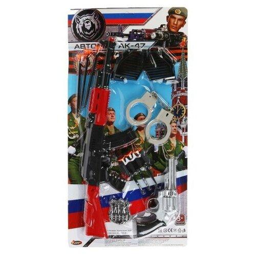 Фото - Набор оружия Играем вместе Военный, на блистере, 57*39*5 см ролевые игры играем вместе набор оружия полиции