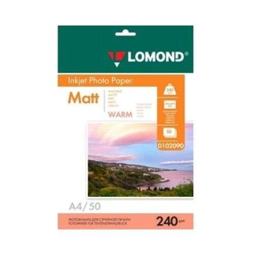 Фото - LOMOND Фотобумага LOMOND 240 г/м2 односторонняя матовая Warm A4 50л lomond 2020345