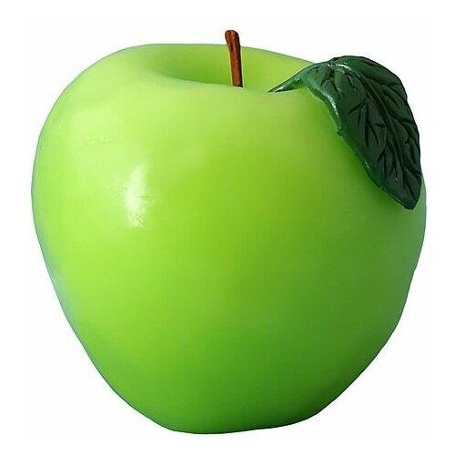 Свеча ароматизированная фигурная яблоко, 7.5х7 см, Омский Свечной 9151-свеча