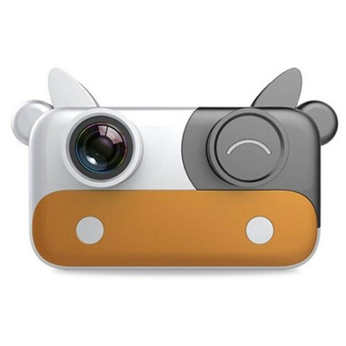 Фото - Детский цифровой фотоаппарат, желтый детский цифровой фотоаппарат собачка розовый kids camera pink