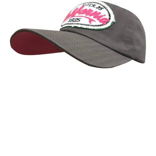 Фото - Бейсболка женская Be Snazzy CZD-0020 California. Цвет серый. Размер 56-60 бейсболка be snazzy m 1 czd 0046 размер 56 60 темно синий
