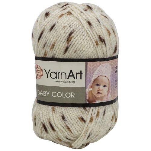 Фото - Пряжа YarnArt 'Baby color' 50гр 150м (100% акрил) (269 принт), 5 мотков пряжа yarnart baby 50гр 150м 100% акрил 1182 коричневый 5 мотков