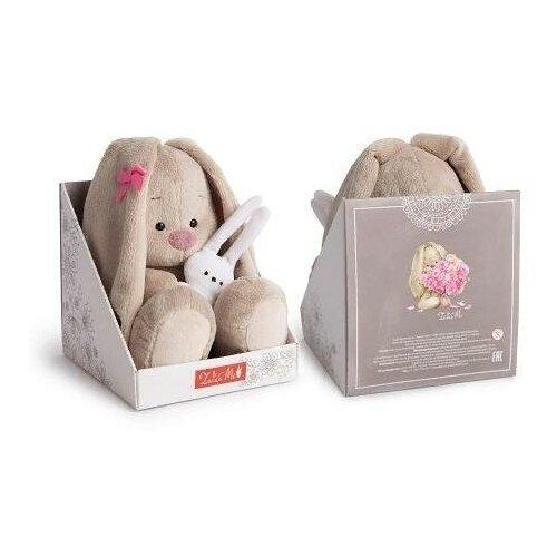 Мягкая игрушка Зайка Ми Розовый кварц 18 см Budi Basa SidS-414