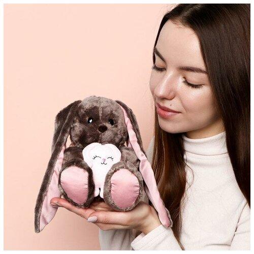 Зайки Li&Lu Мягкая игрушка «Li с зайцем», зайка