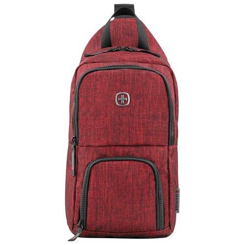 Фото - Рюкзак Wenger Urban Contemporary, с одним плечевым ремнем, бордовый, 19х12х33 см, 8 л, шт 605030 рюкзак 605030 бордовый