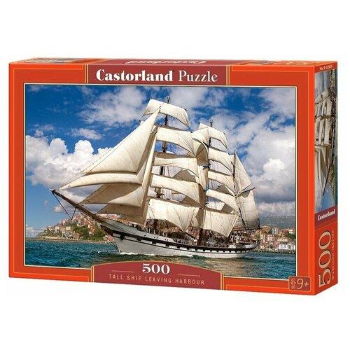 Пазл Castorland Корабль в гавани 500 элементов 52851 пазл castorland tall ship leaving harbour b 52851 500 дет