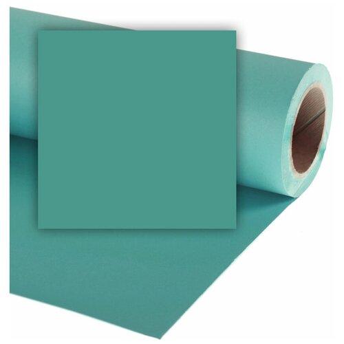 Фото - Фон Colorama Sea Blue, бумажный, 2.7 x 11 м, голубой фон бумажный colorama ll co531 1 35x11 м maize