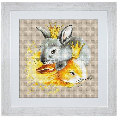 Фото - Набор для вышивания Кролики, Luca-S bu4022 набор для вышивания хижина в лесу 43 5 40см luca s