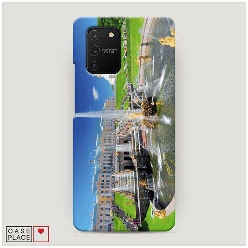 Чехол Пластиковый Samsung Galaxy A91 Петергоф