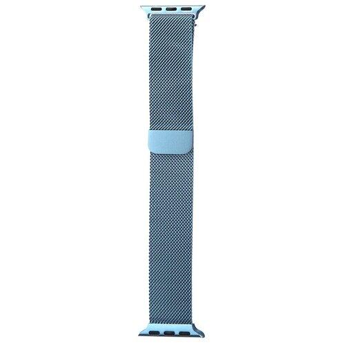 Аксессуар Ремешок Bruno для APPLE Watch 38/40mm Milano Light Blue b20520 аксессуар ремешок bruno для apple watch 38 40mm milano black red b20527