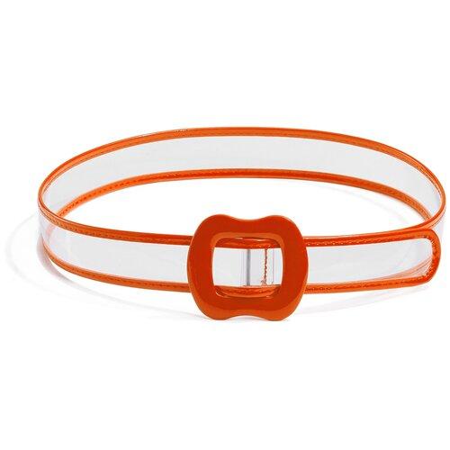 Фото - Ремень Стильная вечеринка Красная Жара (прозрачный; оранжевый) 60-88 см парик интуиция красная жара ярко оранжевый