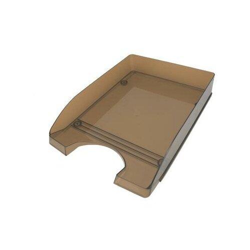 Купить Лоток для бумаг горизонтальный Attache Line прозрачный тонированный 2 шт., Лотки для бумаги