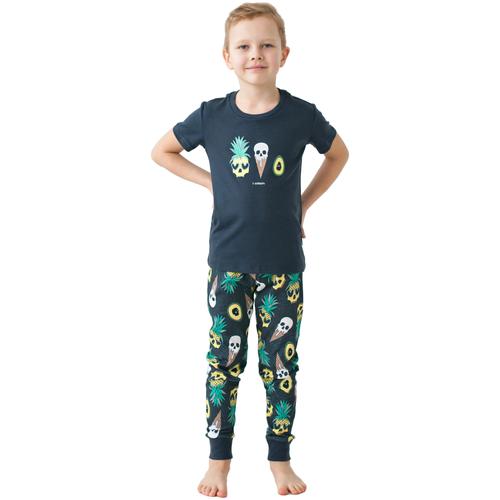 Купить Пижама FUN.TUSA Scream размер 128, темно-серый, Домашняя одежда