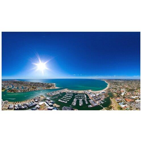 Постер на холсте с подрамником ХитАрт Солнечная Австралия 40x23 см василюк н худ солнечная австралия