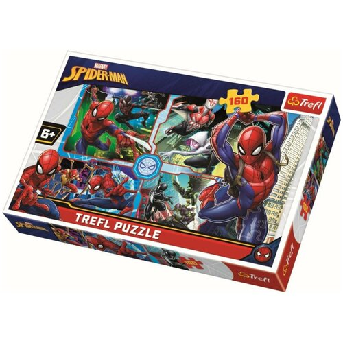 Пазлы Trefl Человек-паук спешит на помощь, 160 элементов