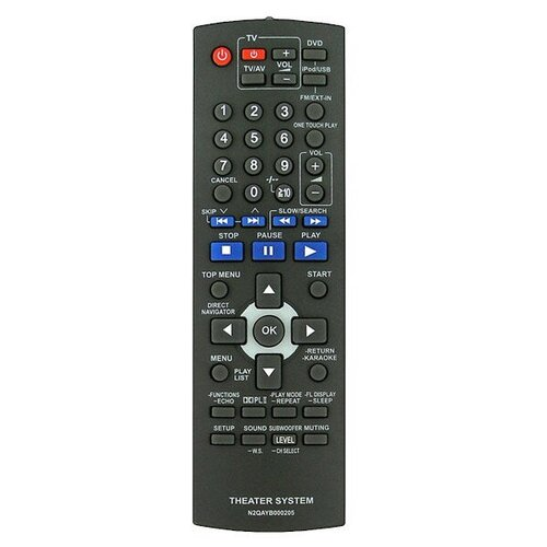 Пульт Huayu N2QAYB000205 (N2QAYB000209) (для DVD и Blu-ray Panasonic)