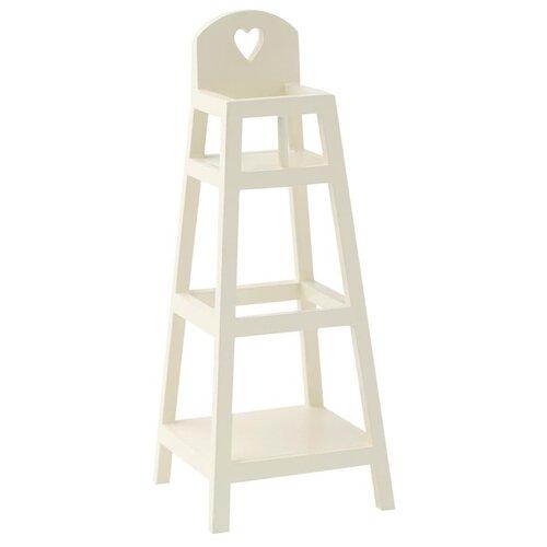 Maileg Высокий стул для новорожденных '20 белый