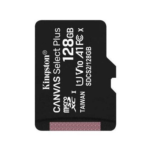 Фото - Карта памяти 128 ГБ microSDXC Kingston Canvas Select Plus Class 10 UHS-I (SDCS2/128GBSP) карта памяти 512gb kingston canvas select plus microsdxc u