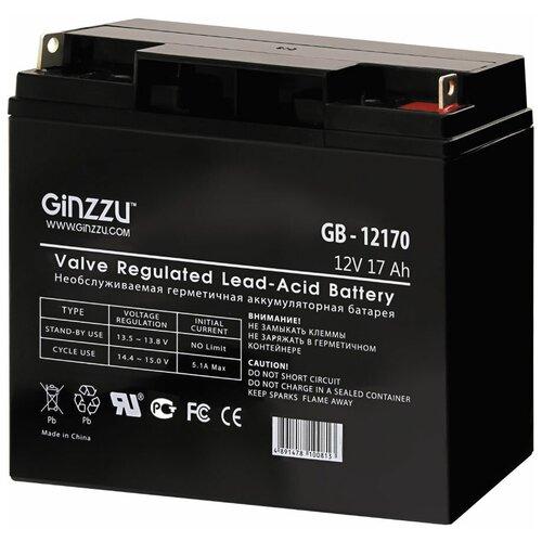 Аккумуляторная батарея Ginzzu GB-12170 17 А·ч