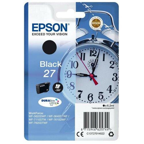 Фото - Картридж струйный Epson C13T27014022 чер. для WF-7110/7610/7620 делитель на 4 тв power pass 2774 2774