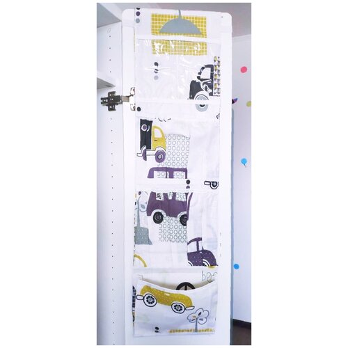 lili gaufrette болеро Органайзер Lili Dreams в шкафчик для детского сада подвесной миди, Город в желтом