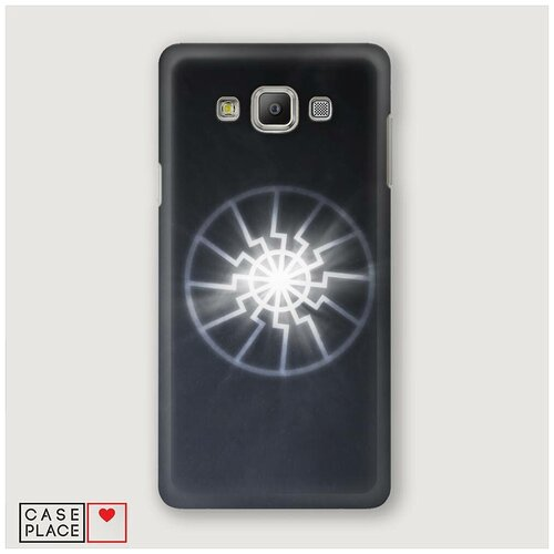 Чехол Пластиковый Samsung Galaxy A5 Черное солнце