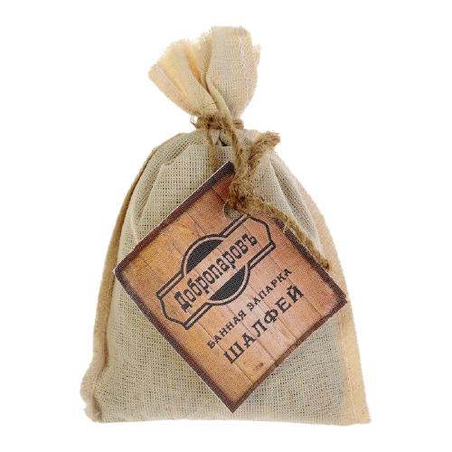 Добропаровъ Запарка банная натуральная оздоровительная Шалфей коричневый