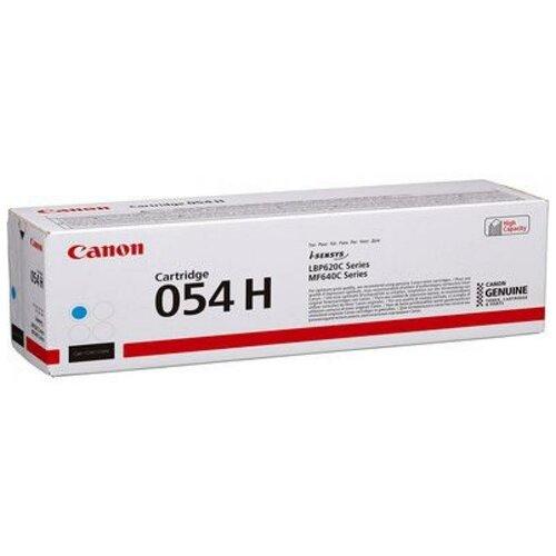 Фото - Картридж лазерный Canon 054 H C 3027C002 голубой 2300стр. для Canon MF645CxMF643CdwMF641CwLBP623Cdw621Cw тонер картридж 054h c 3027c002