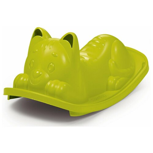 Качели-балансир одноместные Кошка зеленый Smoby 830104