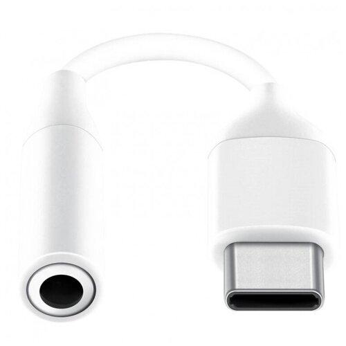 Адаптер USB Type-C - Jack 3.5, M/F, Samsung, бел, EE-UC10JUWRGRU 1 шт. переходник micro usb usb type c f m samsung чер ee gn930bbrgru 1 шт