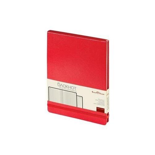 Купить Блокнот Bruno Visconti Megapolis Reporter А5 100 листов красный в клетку на сшивке (144x212 мм) (артикул производителя 3-103/04) 1 шт., Ежедневники