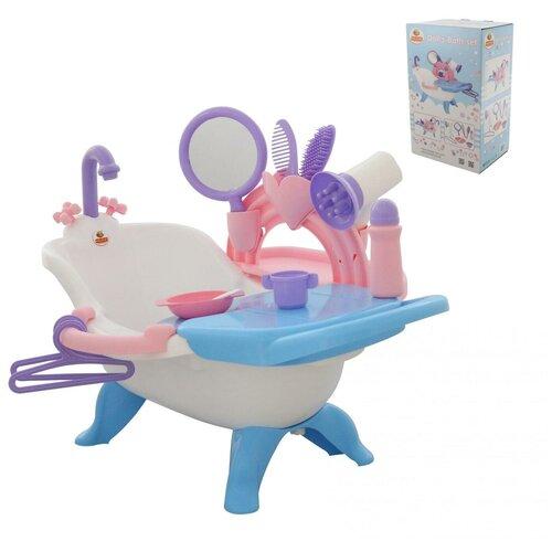 Набор для купания кукол 2 Полесье с аксессуарами в коробке