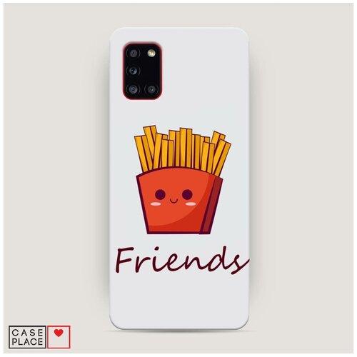 Чехол Пластиковый Samsung Galaxy A31 Навсегда друзья недорого