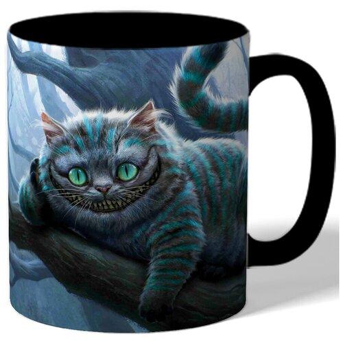 Кружка с рисунком Чеширский кот