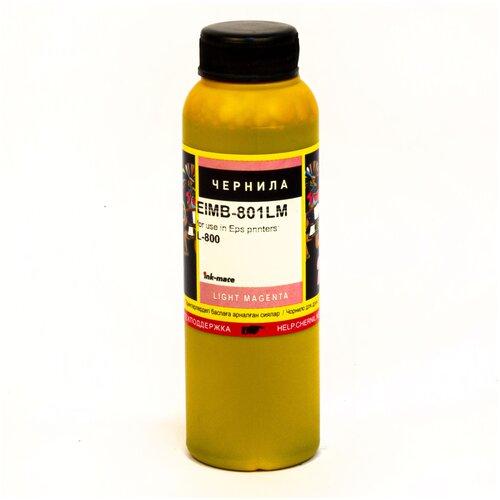 Фото - Чернила ink-mate EIM-801LM для EPSON T6736 L800/L805/L850/L1800 (100мл, light magenta, Dye) чернила light magenta granite g11 ink в пакетах f623 1212