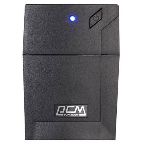 ИБП Powercom Raptor RPT-800A EURO 480Вт 800ВА черный rpt 800a euro
