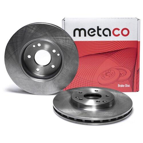 Диск тормозной передний вентилируемый Metaco 3050-180