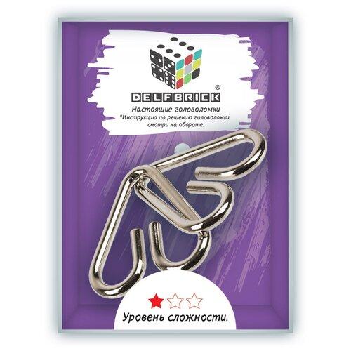 Головоломки металлические DELFBRICK DLM-03 Головоломка металлическая 1 шт
