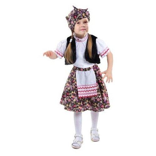Карнавальный костюм «Бабка-ёжка», жилет, юбка, блузка, платок, р. 28, рост 98-104 см анна пушкина бабка ёжка детская литература