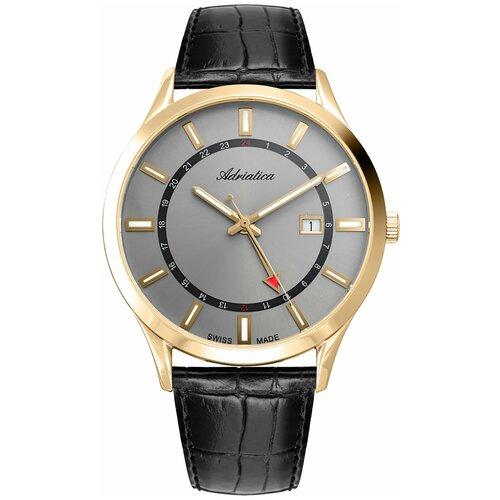 Фото - Часы наручные мужские Adriatica A8289.1217Q мужские часы adriatica a1246 5217q
