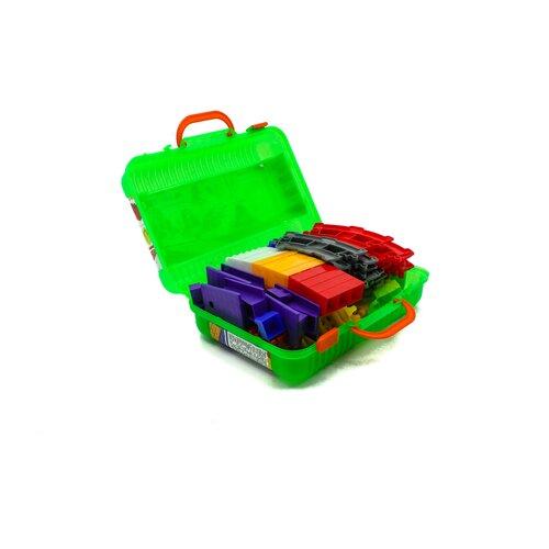 Конструктор детский блочный разноцветный из 140 элементов MAXIMUS Мастер / конструктор для мальчиков / развивающие игрушки / конструкторы для девочек / конструкторы для мальчиков / конструктор для девочек / детский конструктор