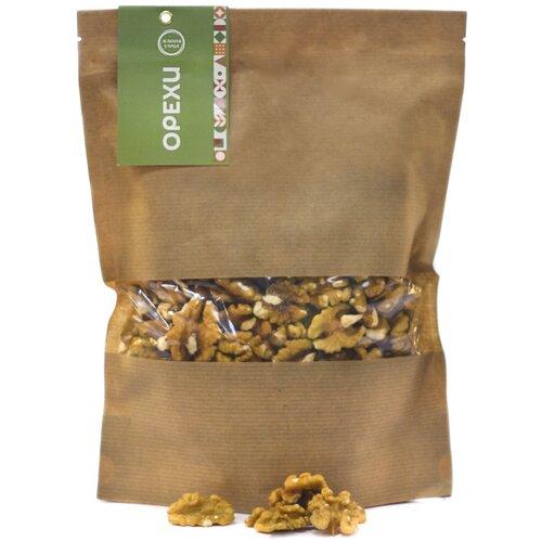 Орехи, Грецкий орех 435 гр, отборные вкусные орехи Зеленая Улица. Свежий урожай. Здоровое питание!