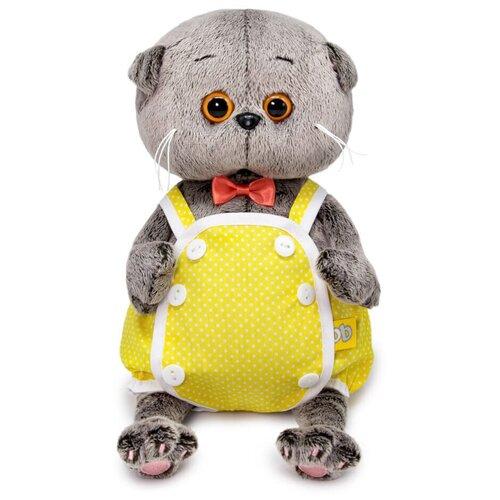 Фото - Мягкая игрушка Budi Basa Басик BABY в желтом песочнике 20 см игрушка мягкая budi basa басик baby в шапке панда 20 см bb 070