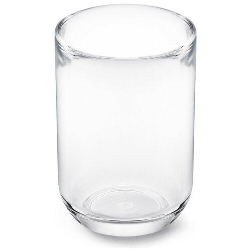 Фото - Органайзер-стакан для зубных щеток Junip 7x10 см, материал акрил, цвет прозрачный, Umbra, 1014016-165 стакан для зубных щеток touch 10х10х8 см серый 023271 918 umbra