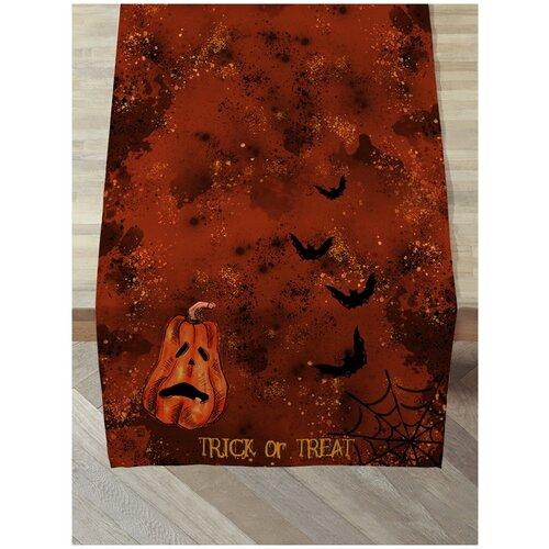 Дорожка на стол sfer.tex 45х140 см Хэллоуин Тыквы