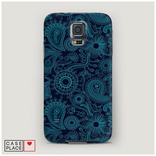 Чехол Пластиковый Samsung Galaxy S5 Турецкие узоры