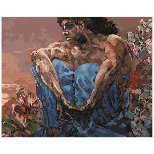 Купить Картина по номерам фрея Демон (Сидящий) 40х50 см, ФРЕЯ, Картины по номерам и контурам