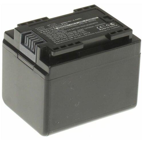 Фото - Аккумуляторная батарея iBatt 2400mAh для Canon Legria HF R36, Legria HF R37, Legria HF R38, VIXIA HF R800, VIXIA HF R300, VIXIA HF M50 буклетмейкер delta hf 25