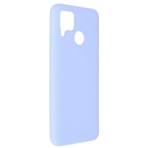 Чехол Pero для Realme C15 Liquid Silicone Light Blue PCLS-0059-LB
